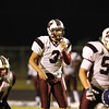 Wakefield's Connor Mitch (3) calls the signals. Wakefield tames Heritage 42 to 21 Friday night October 26, 2012. (Photo by Jack Tarr)