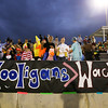 Heritage fans dressed up for the game. Wakefield tames Heritage 42 to 21 Friday night October 26, 2012. (Photo by Jack Tarr)