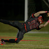 Thomas Hartshorn (38) runs in a fumble recovery for a touchdown as Middle Creek crushes Athens Drive 56 to 21 Friday night October 25, 2013. (photo by Jack Tarr 2013)