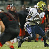 E. E. SmithMaurice Faison (81) runs after the catch. Middle Creek rolls over E.E. Smith 56 to 7 Friday night August 30, 2013. (Photo by Jack Tarr)