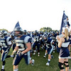 Millbrook takes the field. Millbrook defeats East Wake 20 to 14 Friday night September 6, 2013. (Photo by Jack Tarr)