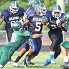 South East and Green Hope scrimmaged Monday night August 12, 2013. (Photo by Jack Tarr)