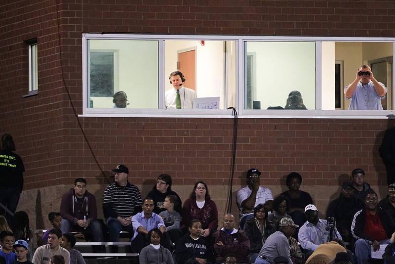 FAN CAM: Knightdale defeats Durham Hillside Friday night November 22, 2013 in round two of the NCHSAA Football playoffs. (Photo by Jack Tarr)