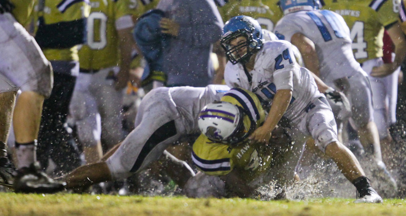 Panther Creek rolls over Holly Springs 27 to 0 Friday night November 1, 2013. (Photo by Jack Tarr)