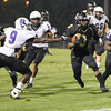 Apex Rondell James (3) runs the ball. Riverside drifts by Apex 37 to 3 Friday September 20, 2013(photo by Jack Tarr 2013)