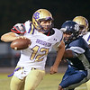 Millbrook shuts out Broughton 28 to 0 Friday night October 10, 2014. (Photo by Jack Tarr/WRAL Contributor)