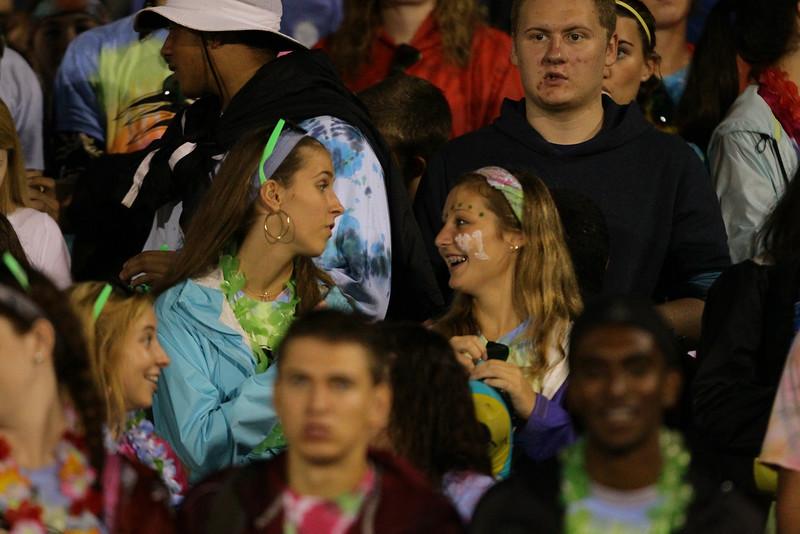 FAN CAM: Fuquay Varina defeats Green Hope 36 to 26 Monday night September 28, 2015. (Photo by Jack Tarr/HighschoolOT.com contributor.)