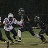 Jack Biestek (12) of Cardinal Gibbons High School. Cardinal Gibbons defeats Riverside 29 to 12 Thursday night October 1, 2015. (Photo by Jack Tarr/HighschoolOT.com contributor.)