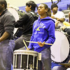 FAN CAM: Garner band during the first round of NCHSAA State Basketball tournament game Monday February 25, 2013 (Photo by Jack Tarr)