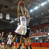 River Mill's  #23 Lenaira Ruffin grabs a rebound during the NCHSAA 1A State Championship game Saturday March 16, 2013 (Photo by Jack Tarr)