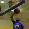 East Wake's #24 Quincy Jackson with a lay up as Garner Rolls over East Wake Apex 84 to 53 Friday night January 24, 2013.(Photo by WRAL Contributor Jack Tarr)