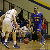 East Wake's #24 Quincy Jackson in transition as Garner Rolls over East Wake Apex 84 to 53 Friday night January 24, 2013.(Photo by WRAL Contributor Jack Tarr)