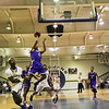 East Wake's #4 Kyle Lockett drives the lane as Garner Rolls over East Wake Apex 84 to 53 Friday night January 24, 2013.(Photo by WRAL Contributor Jack Tarr)