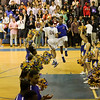 Garner introductions. Garner Rolls over East Wake Apex 84 to 53 Friday night January 24, 2013.(Photo by WRAL Contributor Jack Tarr)