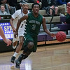 Ridge Ford (3) with the ball as Green Hope defeats Holly Springs 66 to 61 Friday night January 10, 2014 at Holly Springs High School.(Photo by WRAL Contributor Jack Tarr)
