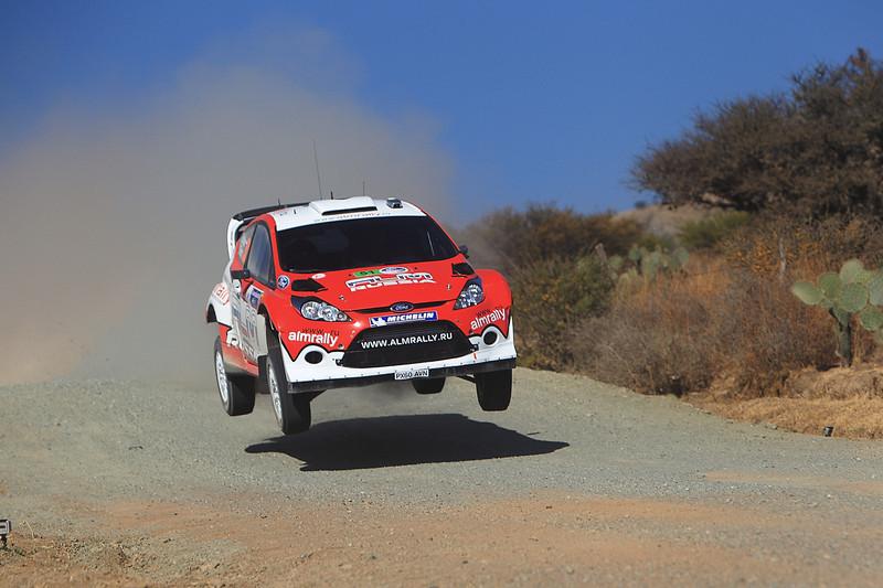 Motorsport - Stephane Prevot / Evgeny Novikov - WRC2011 - Rally Mexico 2011 photo: Lina Arnautova