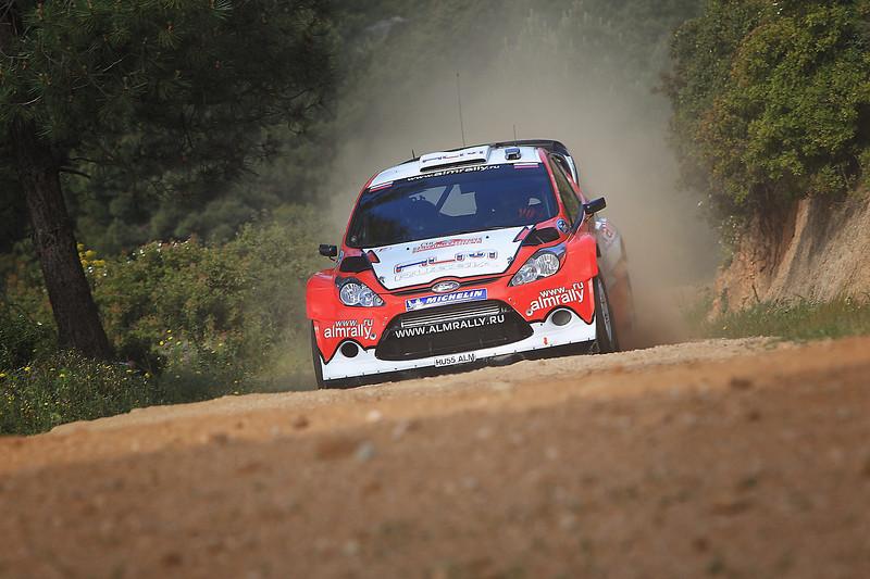 Motorsport - Stephane Prevot / Evgeny Novikov - WRC2011 - Rally ITALIA SARDEGNA - OLBIA (ITA) - 05/05 TO 08/05/2011 photo: Lina Arnautova