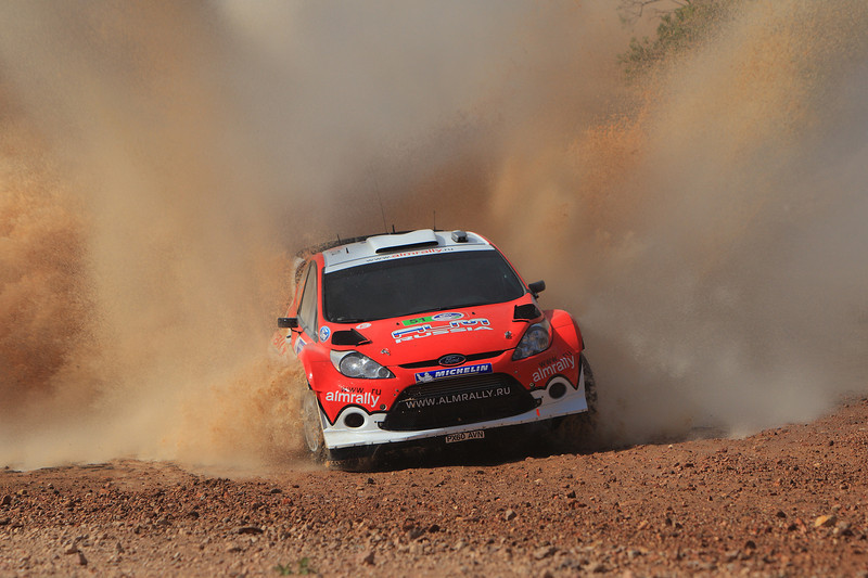 Motorsport - Stephane Prevot / Evgeny Novikov - WRC2011 - Rally Mexico 2011 photo: Lina Arnautova