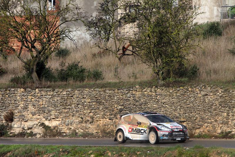 MOTORSPORT - WRC 2012 - RALLYE ESPAGNE - SALOU (ESP) - 8/11 TO 11/11/2012 - PHOTO : BASTIEN BAUDIN / AGENCE AUSTRAL - 22 NOVIKOV EVGENY - ILKA MINOR / FORD FIESTA - WRC / ACTION