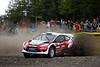 Evgeny Novikov (RUS) / - Ford Fiesta RS WRC. Practice, 2012 Wales Rally GB