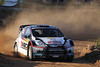 SALOU-SPAIN: EVGENY NOVIKOV in action with  Ford Fiesta RS WRC during  Rally Catalunya Spain, the 13° round of the World Rally Championship, from  09 to 11 November, near Salou-Spain<br /> ©-WILLY WEYENS