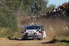SALOU-SPAIN: MARTIN PROKOP in action with  Ford Fiesta RS WRC during  Rally Catalunya Spain, the 13° round of the World Rally Championship, from  09 to 11 November, near Salou-Spain<br /> ©-WILLY WEYENS