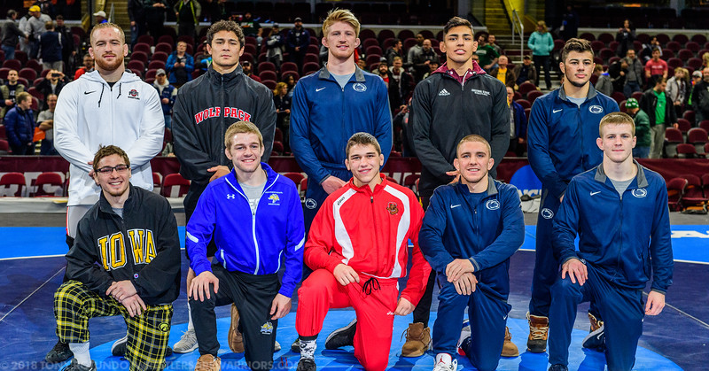 2018 NCAA D1 WRESTLING CHAMPIONSHIPS