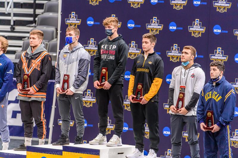 2021 COL: NCAA D1: AWARDS