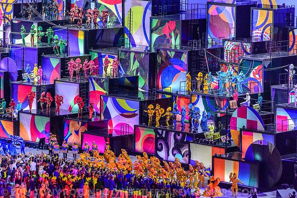 2016 OLYMPICS: OPENING CEREMONY