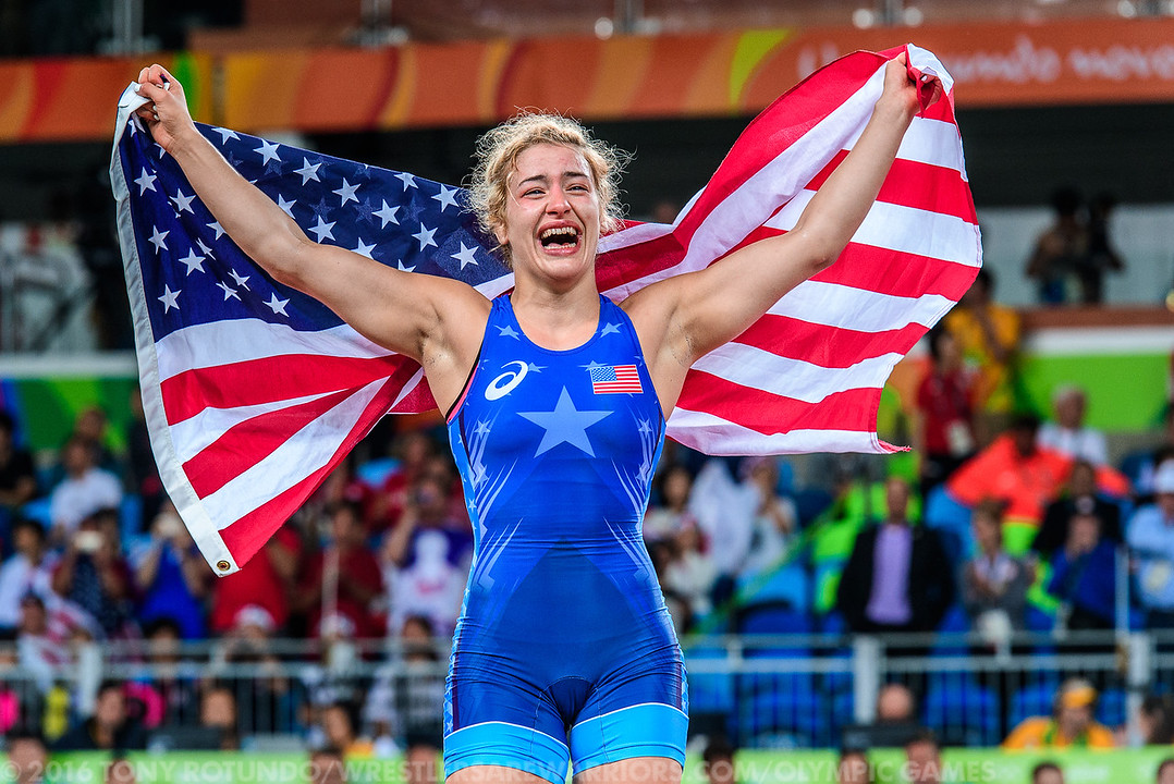 2016 OLYMPICS: WOMEN'S FREESTYLE: WRESTLING: DAY 5: FINALS