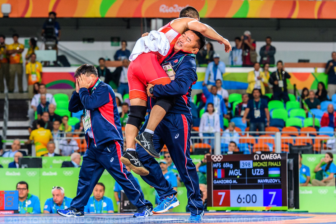 2016 OLYMPICS: MEN'S FREESTYLE: WRESTLING: DAY 8: FINALS