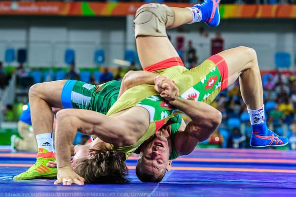 2016 OLYMPICS: GRECO-ROMAN WRESTLING: DAY 1: PRELIMS