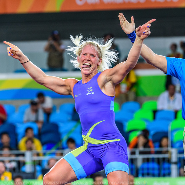 2016 OLYMPICS: WOMEN'S FREESTYLE: WRESTLING: DAY 4: FINALS