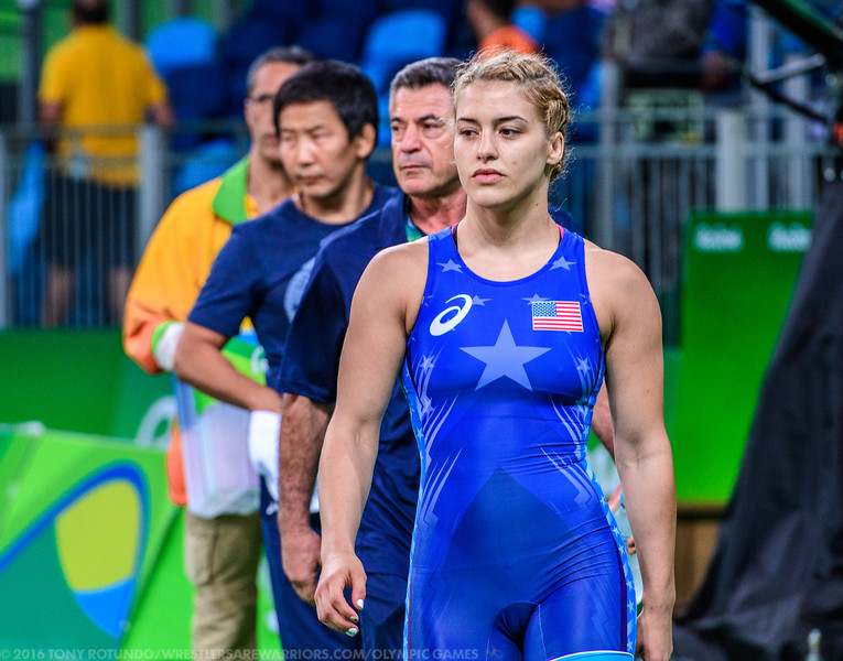2016 OLYMPICS: WOMEN'S FREESTYLE: WRESTLING: DAY 5: PRELIMS