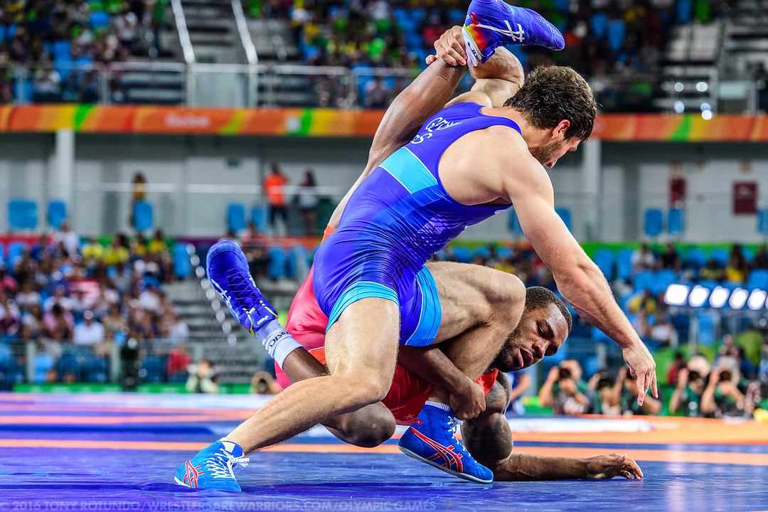 2016 OLYMPICS: MEN'S FREESTYLE: WRESTLING: DAY 6: PRELIMS
