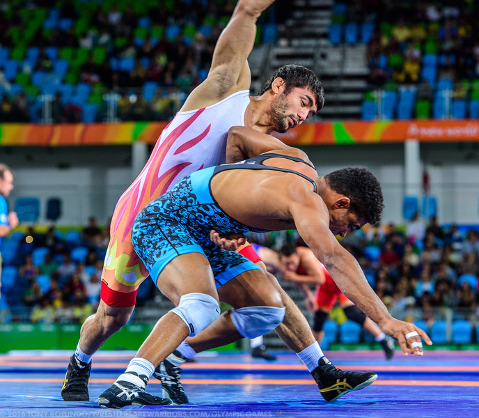 2016 OLYMPICS: MEN'S FREESTYLE: WRESTLING: DAY 8: PRELIMS