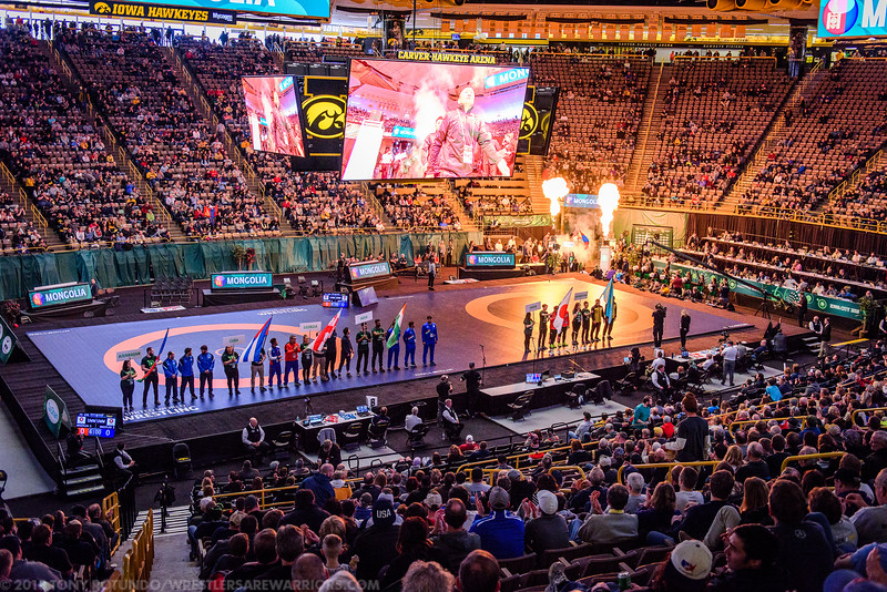2018 OP: MEN'S FREESTYLE WORLD CUP: ARENA