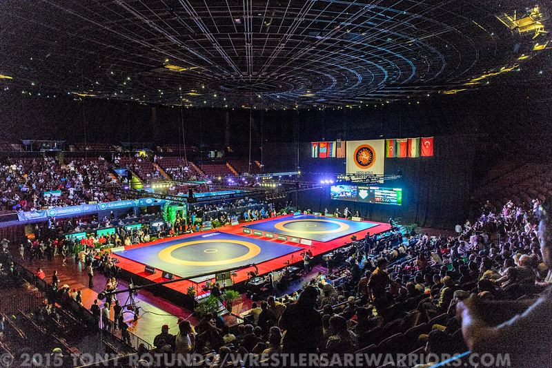 2015 OPEN WRESTLING: FREESTYLE WORLD CUP