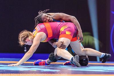 WFS 69 kg -- Tamyra Mensah