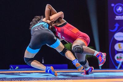 2017 OPEN: SENIOR WORLD CHAMPIONSHIPS: DAY 4: PRELIMS