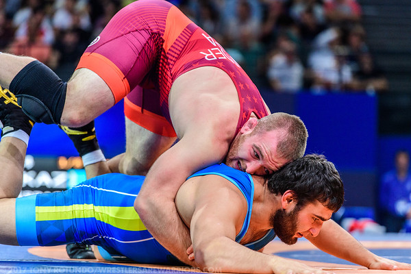 2017 OPEN: SENIOR WORLD CHAMPIONSHIPS: DAY 6: PRELIMS