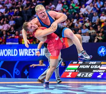 2017 OPEN: SENIOR WORLD CHAMPIONSHIPS: GRECO: DAY 2