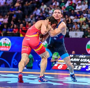 2017 OPEN: SENIOR WORLD CHAMPIONSHIPS: DAY 2: PRELIMS