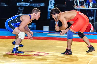 74KG PRELIMS  Ramesh Kumar (IND)021   Dustin Schlatter (USA)101
