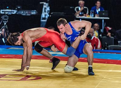 2009 OP WRESTLING: WORLD CHAMPIONSHIP: DAY 3: PRELIMS