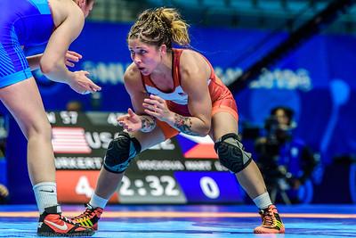 WF 57kg: Jenna Burkert, WCAP