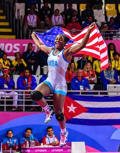 68 kg: Tamyra Mensah-Stock