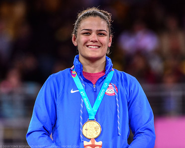 62 kg: Kayla Miracle