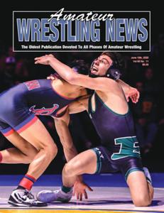 Amateur Wrestling News Cover, June, 2020