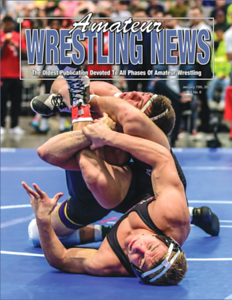 Amateur Wrestling News Cover, January, 2020
